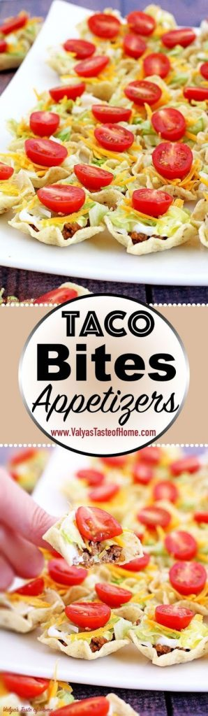 TACO BITES APPETIZERS