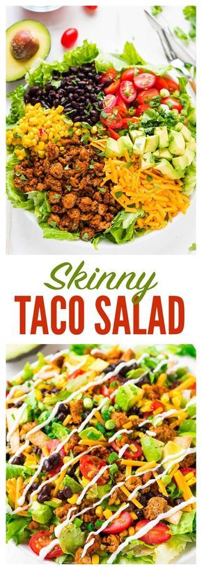 Amazing Skinny Taco Salad Recipes
